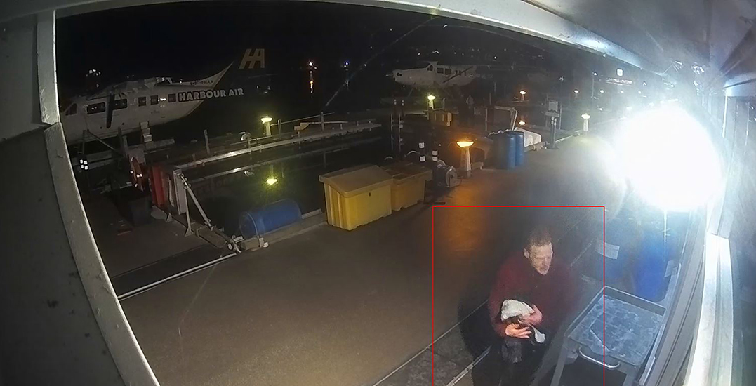Police release surveillance footage of suspect who allegedly stole and crashed seaplane