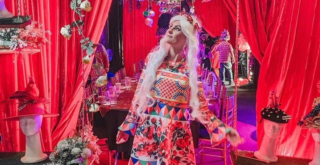 This extravagant Alice in Wonderland cocktail party is just what your Instagram needs