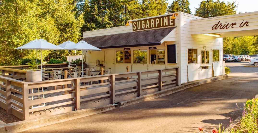 Indulge in ice cream delicacies at the Sugarpine Drive-in
