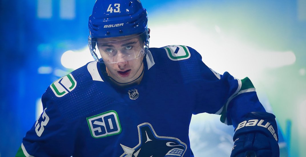 Canucks' Quinn Hughes on pace for one of the best seasons ever by a rookie defenceman