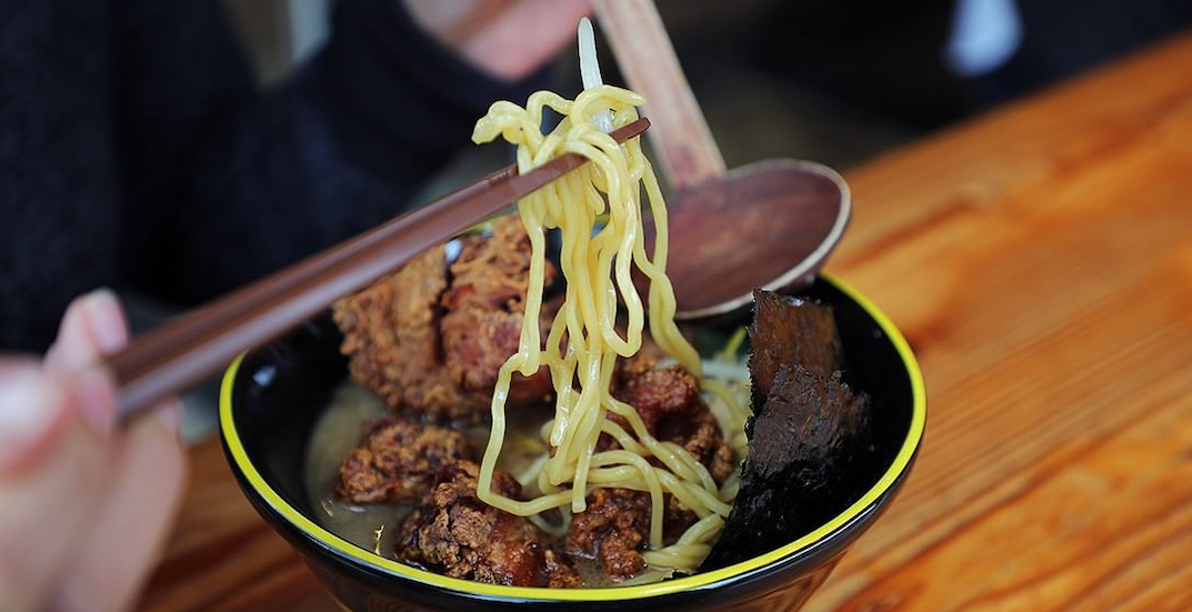 This popular ramen spot is offering 50% off on all meals this weekend