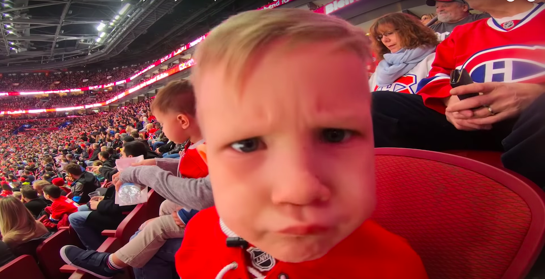 The Canadiens' mic'd up Jeff Petry's adorable son for a recent game (VIDEO)
