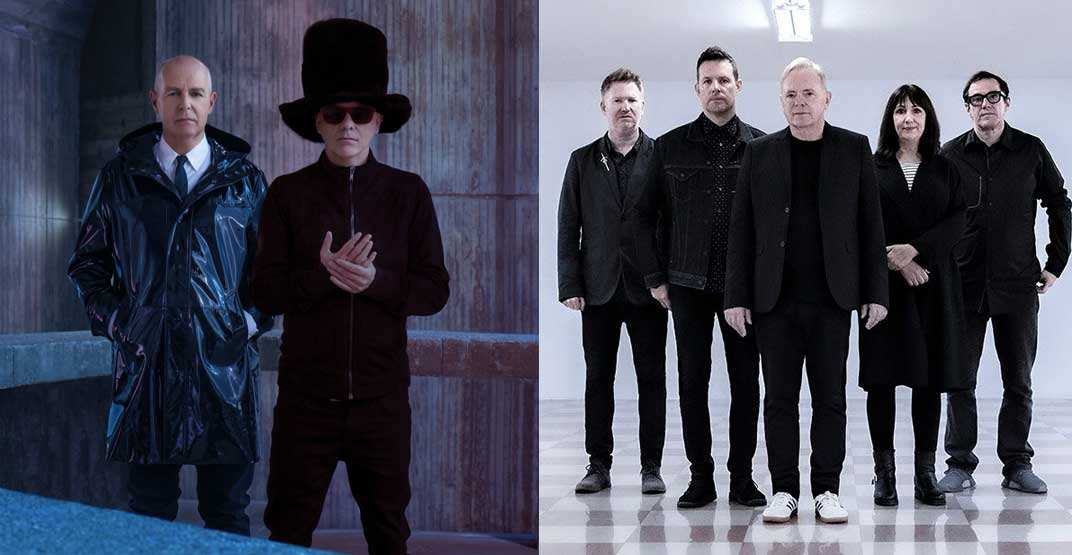 The Pet Shop Boys and New Order to co-headline Vancouver concert