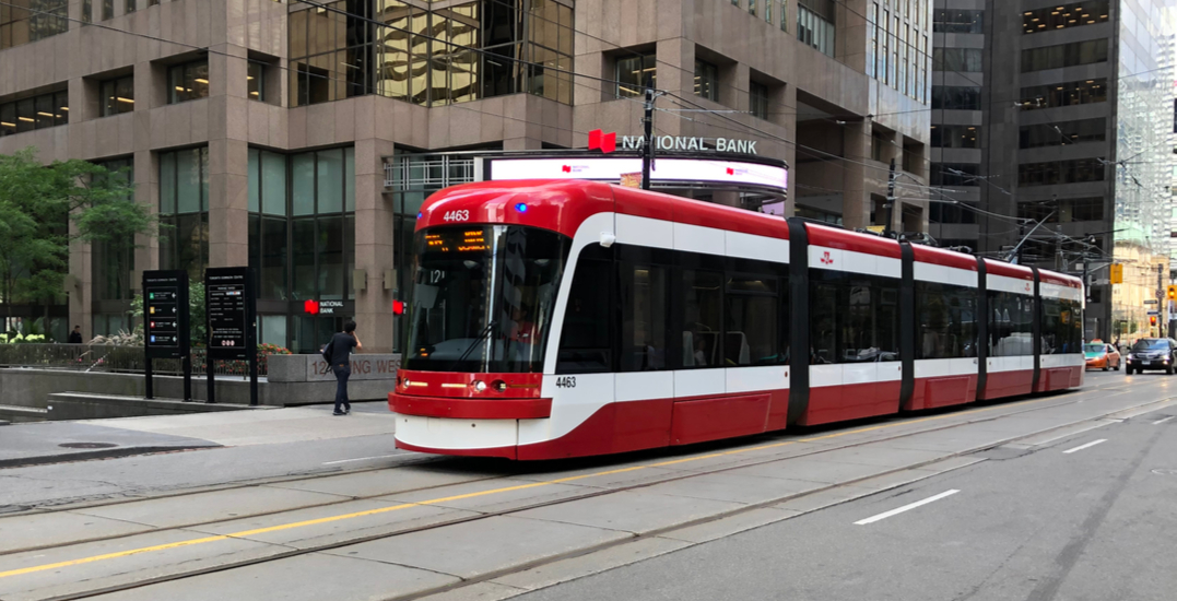 Man suffering head injuries after being struck by vehicle upon exiting TTC streetcar