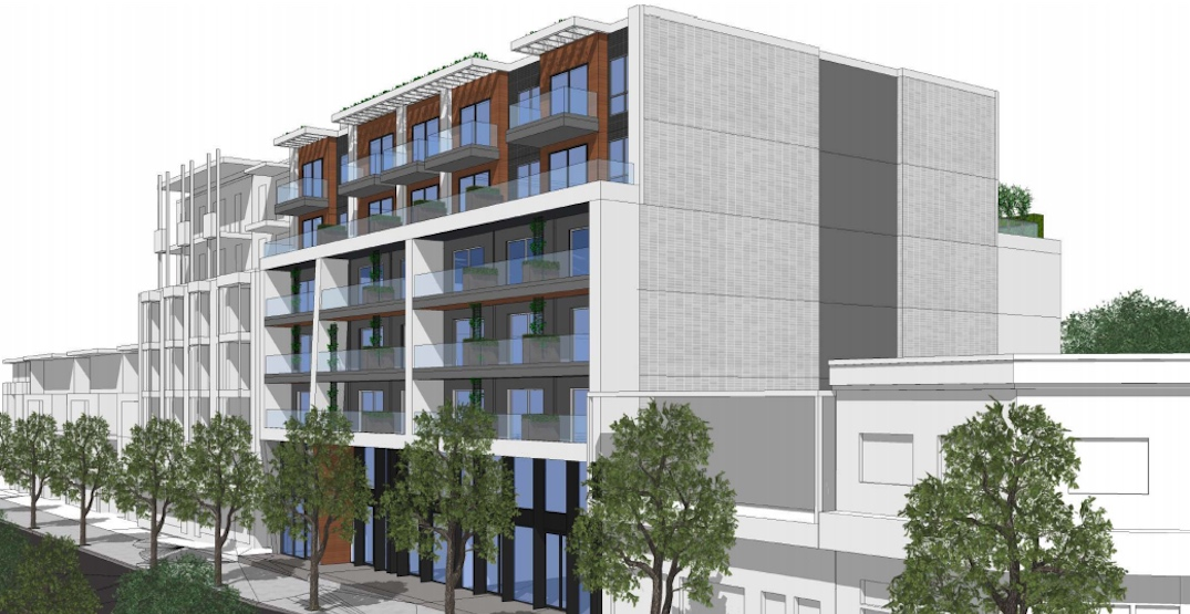 43 rental homes and new retail proposed for Kingsway in Vancouver