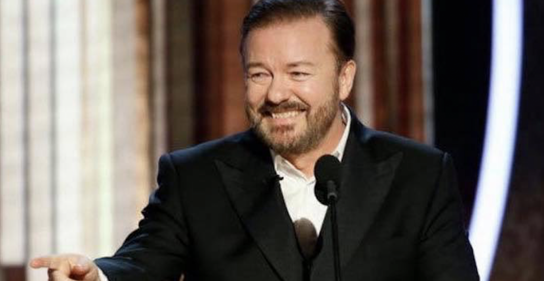 Ricky Gervais joins forces with Vancouver's Parallel 49 brewing after shoutout