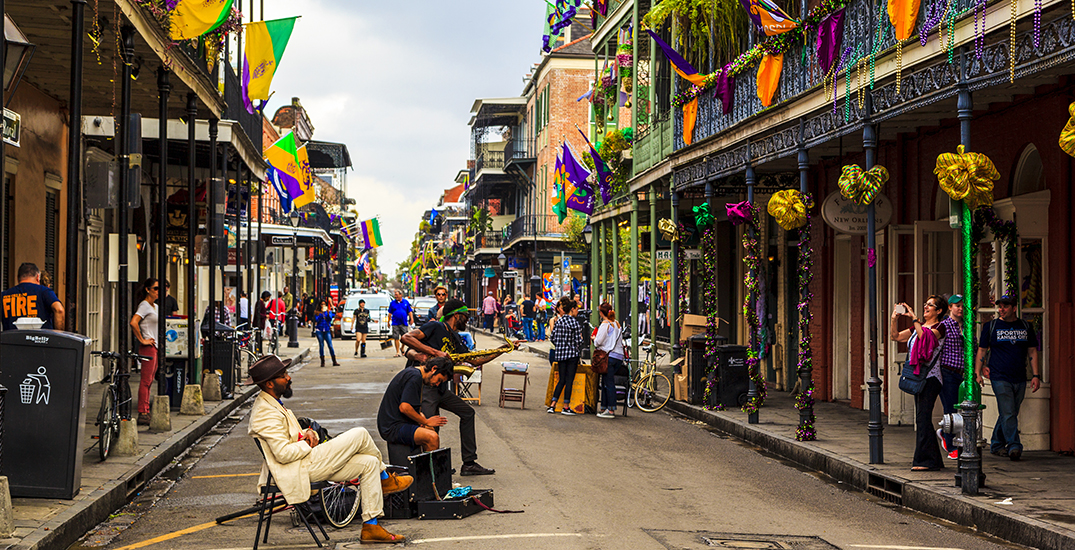 You can fly from YVR to New Orleans for $298 roundtrip this spring