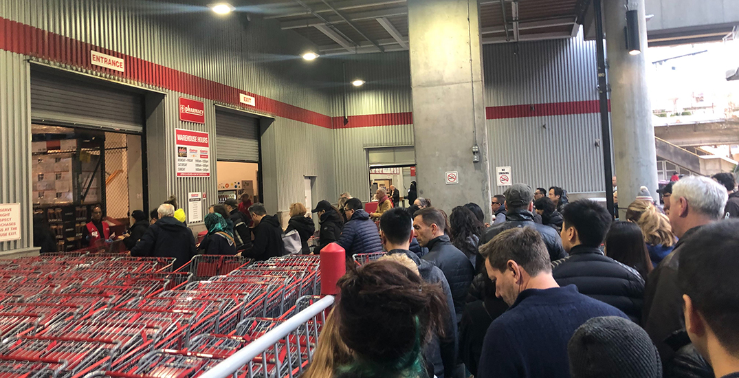 Coronavirus panic-buying leads to lineups at Metro Vancouver stores