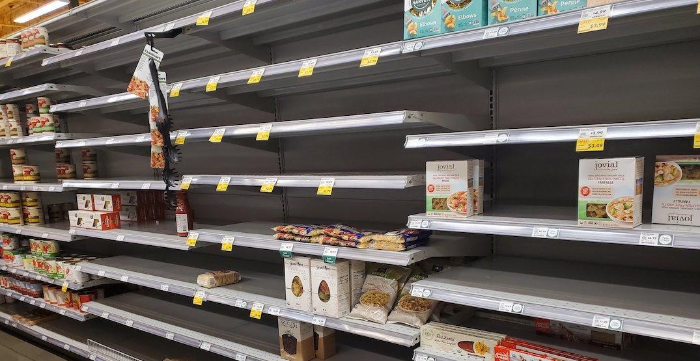 Seattleites are panic buying amid coronavirus fears (PHOTOS)