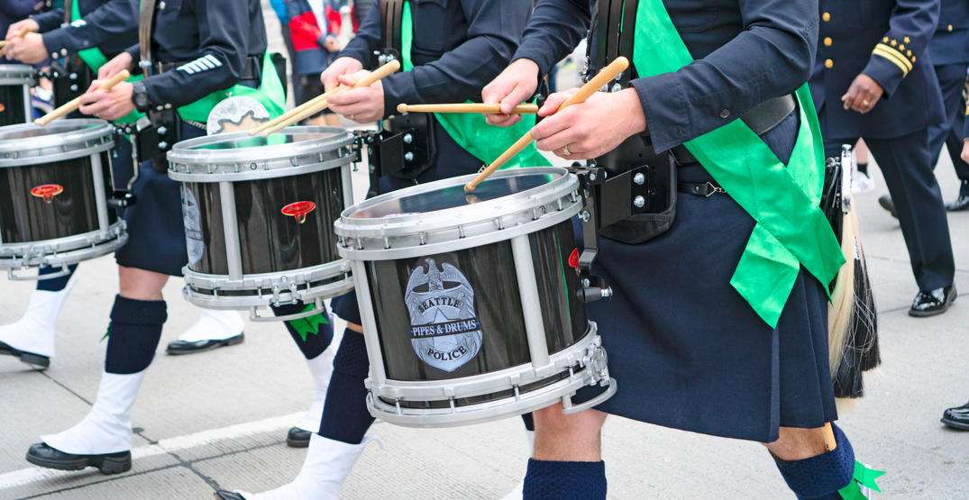 The St. Patrick's Day parade returns to Seattle on March 14