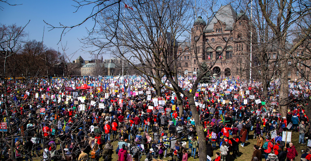 Potential road closures and traffic disruption expected near Queen's Park on Thursday