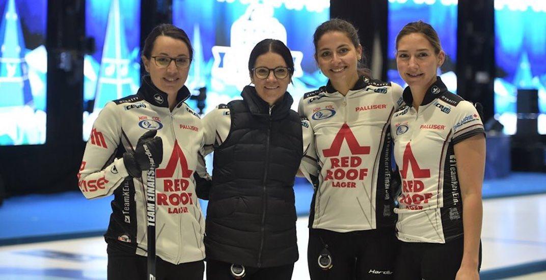 team einarson curling