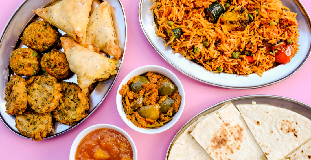 Calgary's first 100% vegetarian Punjabi takeout restaurant, Veggie King, is open