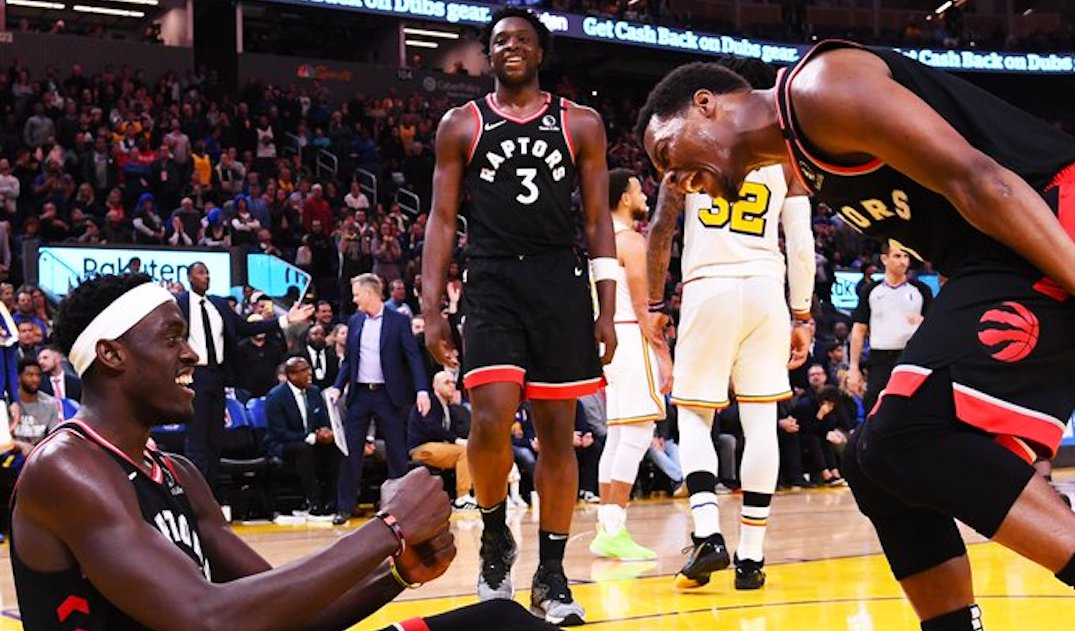 Raptors become 2nd team to clinch playoff spot this season
