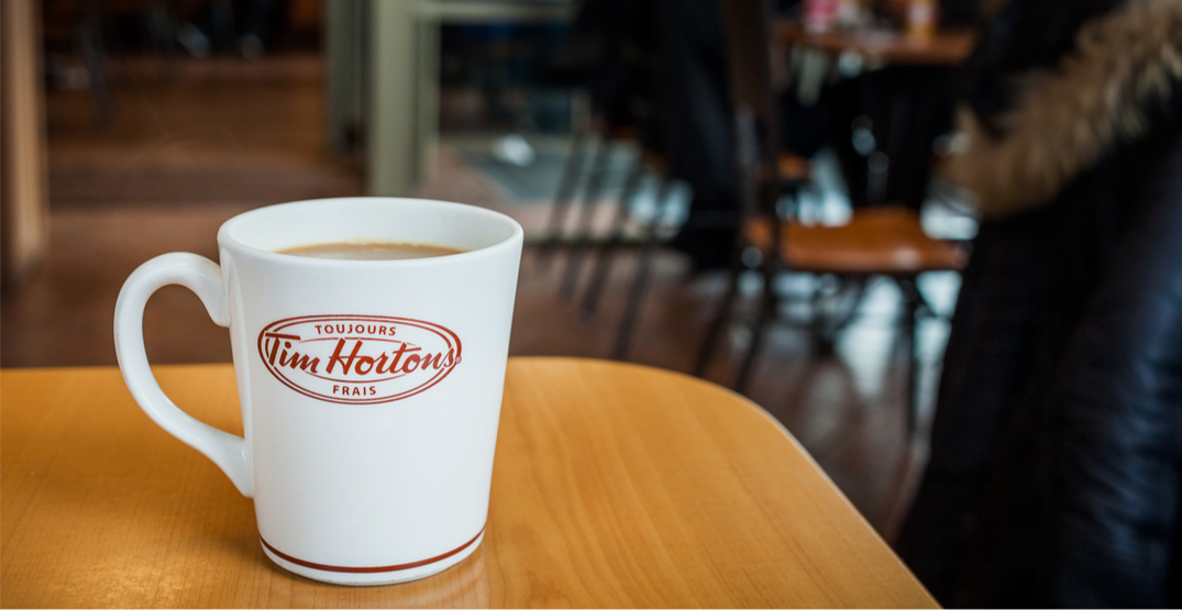 Tim Hortons pausing the use of reusable cups due to coronavirus