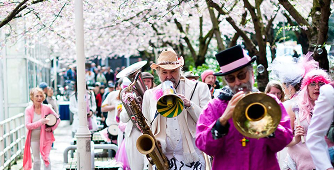 Vancouver Cherry Blossom Festival to host a FREE 2-day concert in April