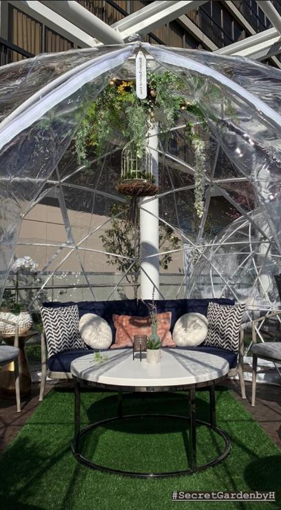 H Tasting Lounge Secret Garden
