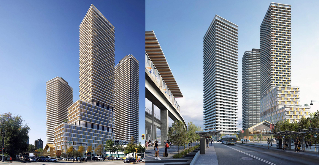Major residential and office complex proposed next to Surrey City Hall (RENDERINGS)