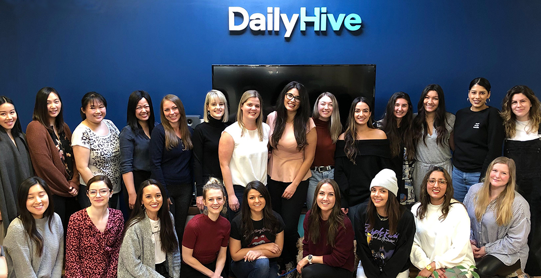57% of our newsroom is made up of women