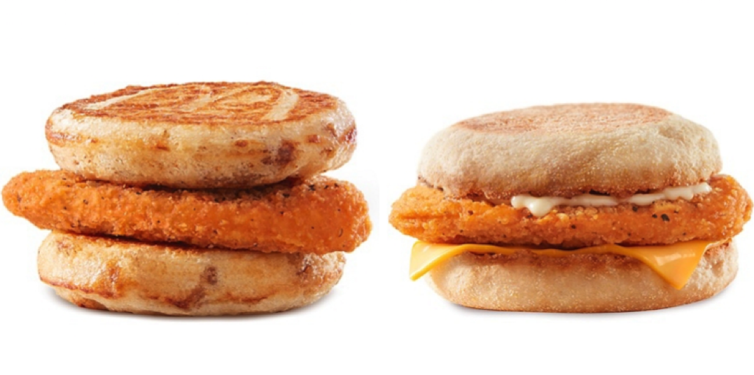 Mcdonald S Launches Chicken Breakfast Sandwiches For A Limited Time Dished