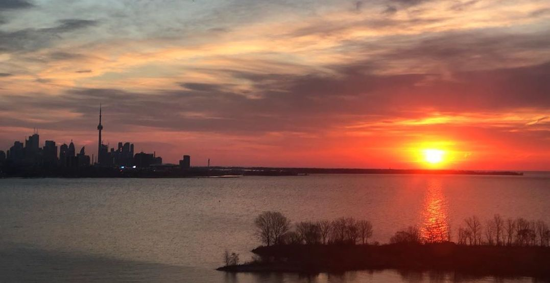 12 snaps of the stunning sunrise in Toronto this morning (PHOTOS)
