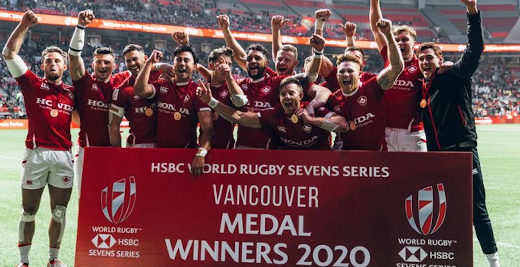 Canada's rugby sevens team earns surprise bronze medal in Vancouver