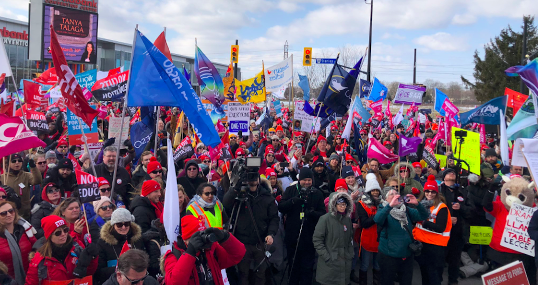 Ontario elementary school teachers' union to continue rotating strikes this March