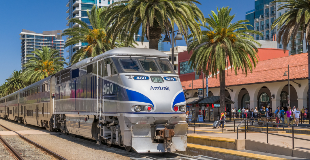 Amtrak Pacific Surfliner is offering buy-one-get-one-half-off tickets Spring 2020