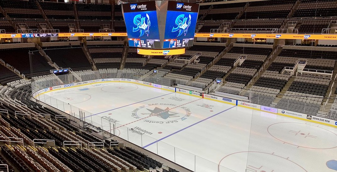 San Jose Sharks might have to play games in an empty arena next week