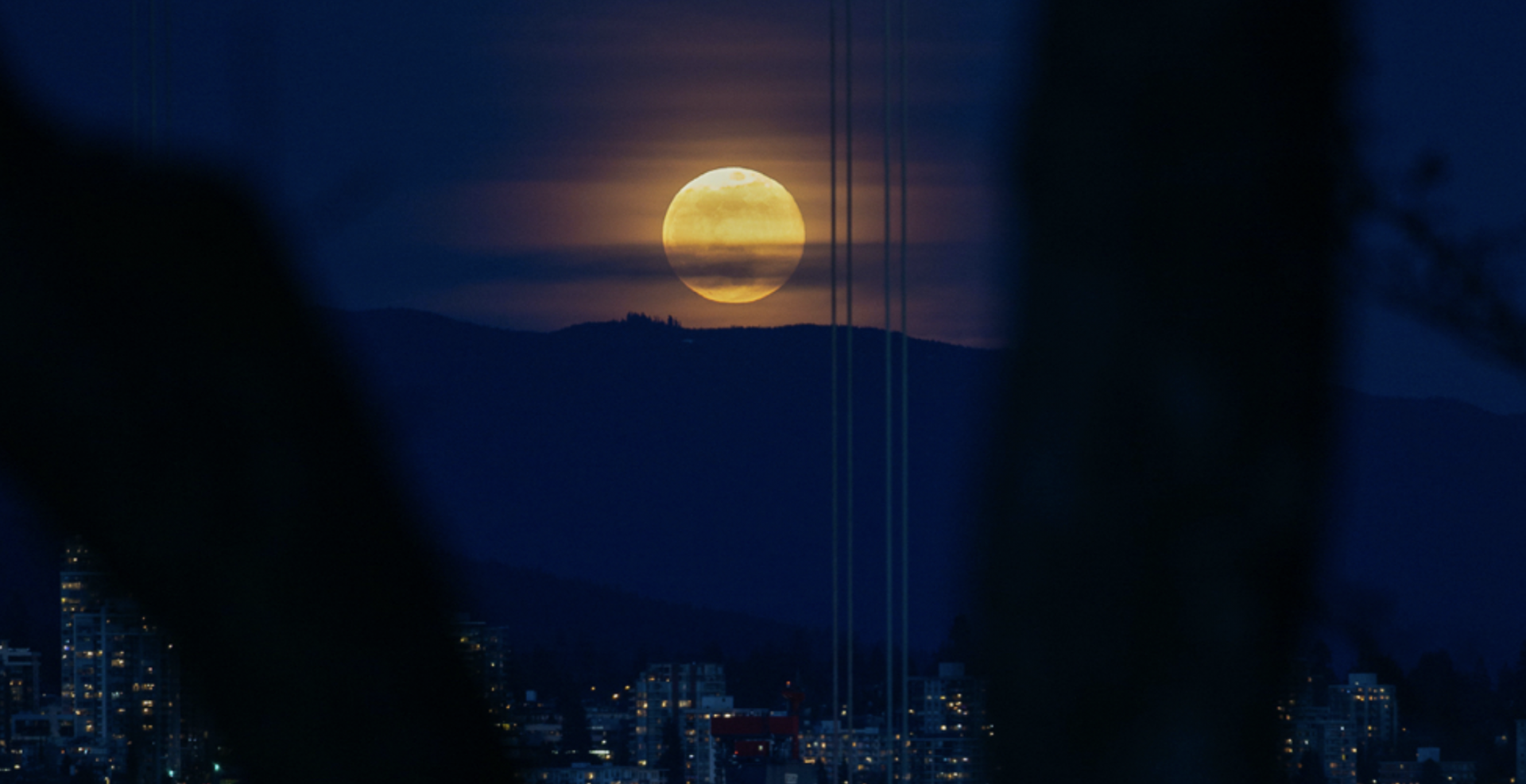 A beautiful supermoon took over the Vancouver sky last night (PHOTOS)
