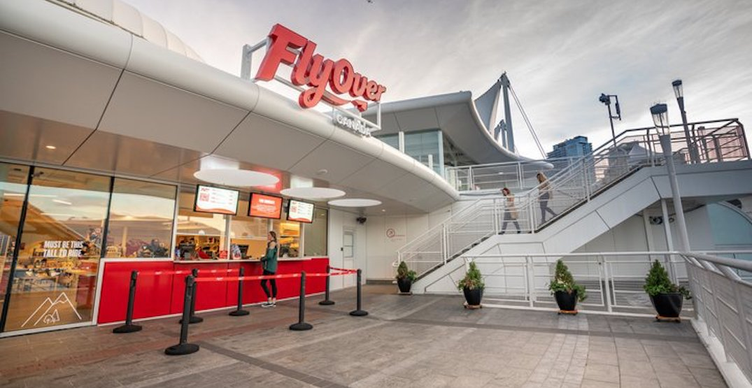 FlyOver Canada completes new permanent pavilion and cafe at Canada Place