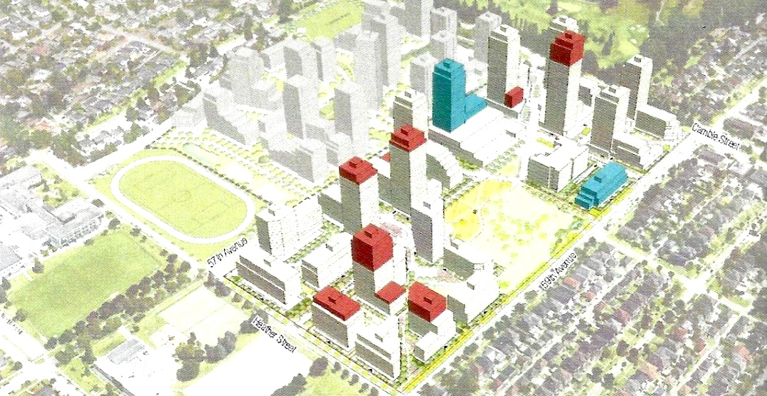 Taller towers for more rental homes proposed for Pearson Dogwood in Vancouver