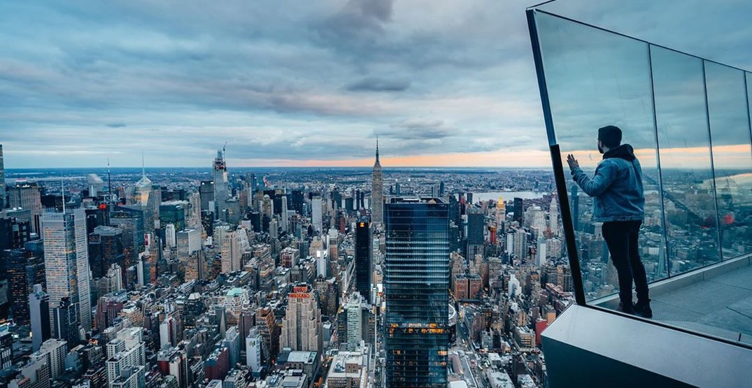 The highest outdoor sky deck in the Western Hemisphere is officially open (PHOTOS)