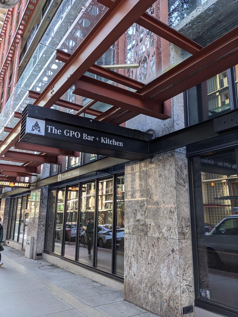 GPO Bar + Kitchen