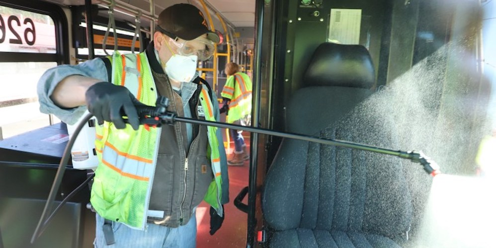 Here's how Seattle transit is being cleaned to limit spread of coronavirus