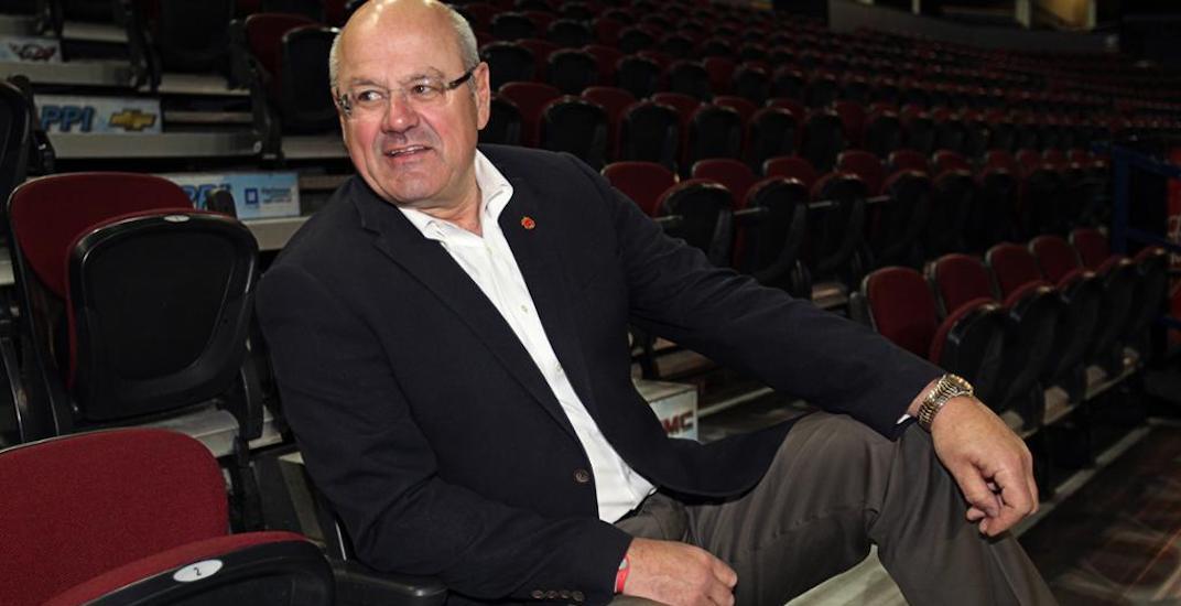 Former Calgary Flames President Ken King dies at 68