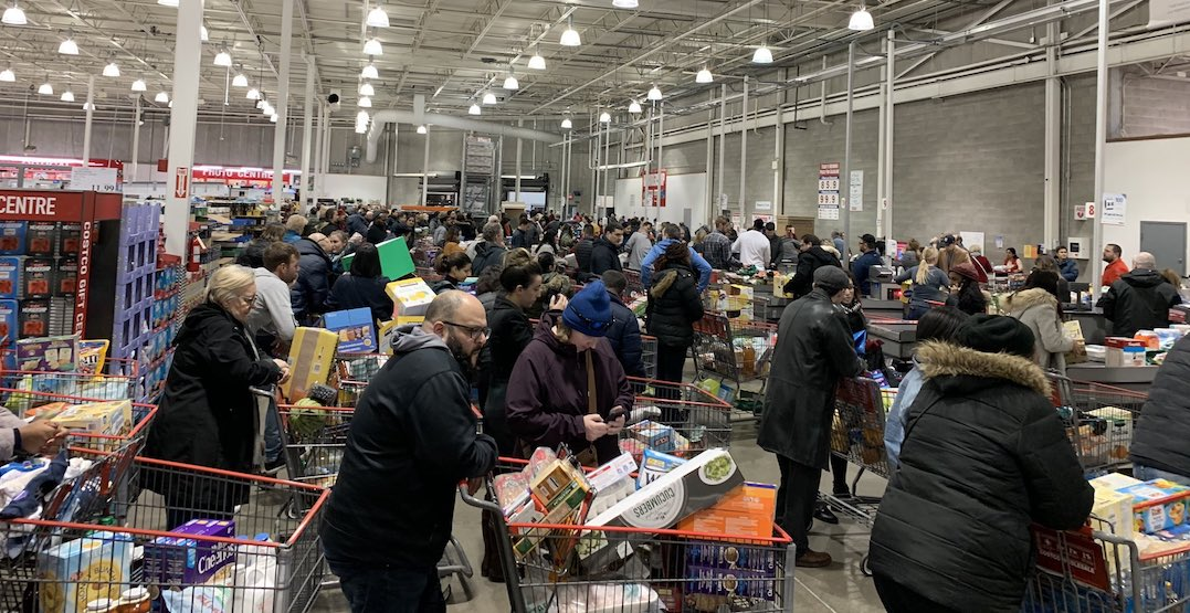 "Ontario asks residents to practice ""normal grocery buying habits"" after panic-buying frenzy"