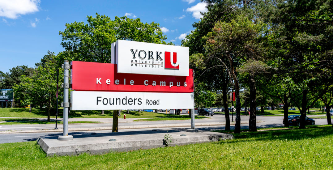"""York University """"suspending all face-to-face instruction"""" starting Monday"""