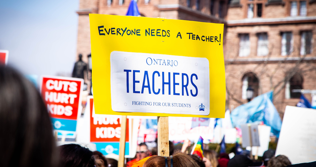 Ontario Catholic school board reaches tentative agreement with Ford government