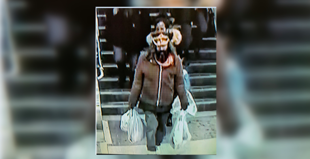 Man wanted after allegedly trying to push someone onto subway tracks