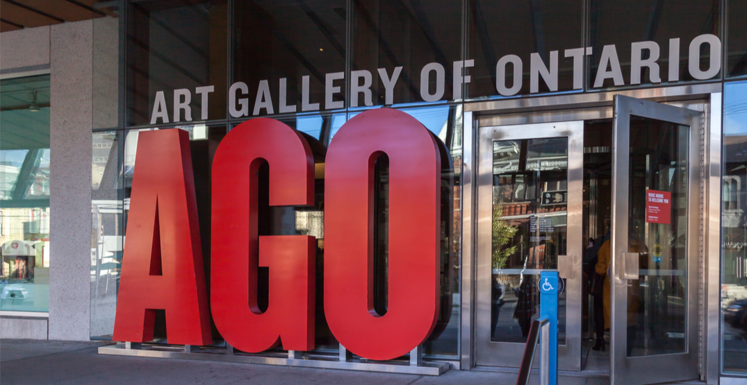 The Art Gallery of Ontario is temporarily closing