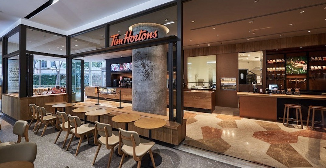 Tim Hortons is closing dining room seating in locations across Canada