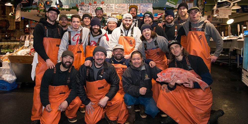 Enjoy contactless pick-up services from Seattle's Pike Place Fish Market