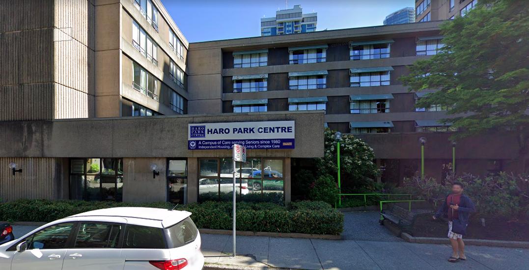 Vancouver Coastal Health confirms case of coronavirus at Haro Park Centre