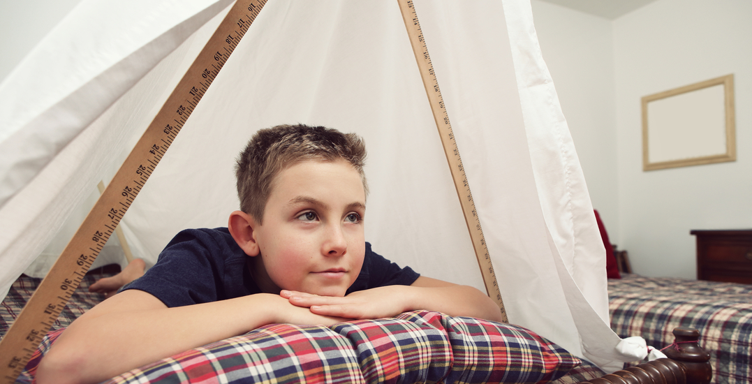 Calgary mom creates Instagram account to feature homemade forts