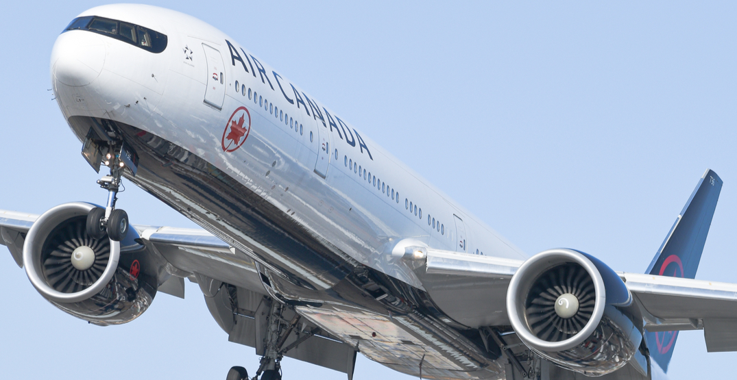 Air Canada suspends majority of international and US transborder flights