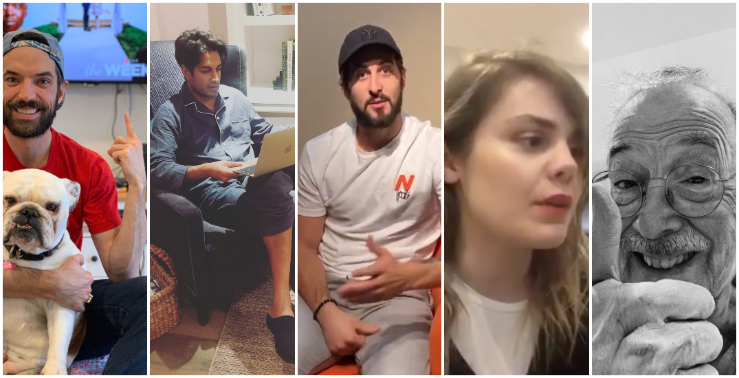 Quebec celebrities encourage citizens to stay home (VIDEOS)