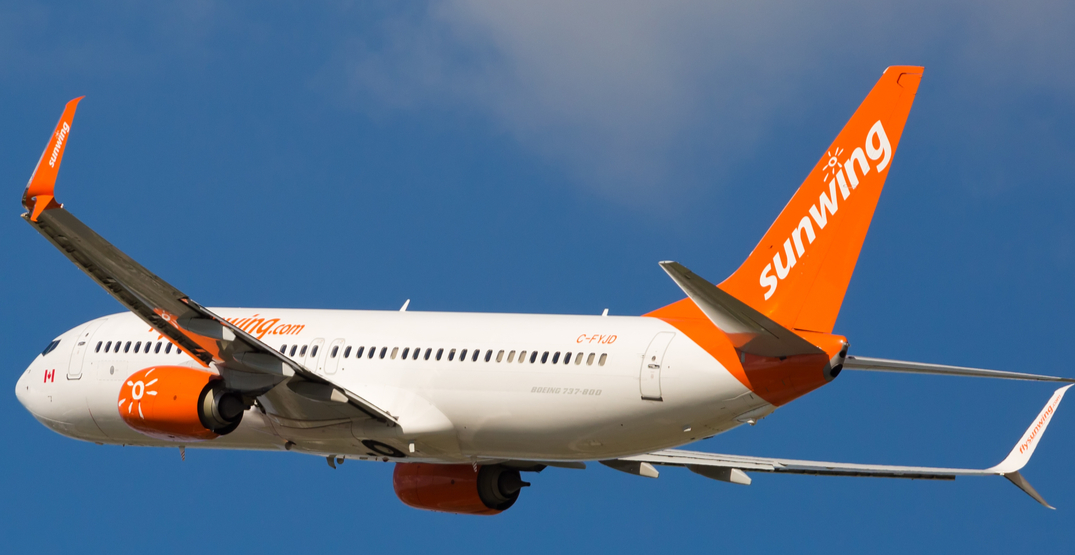 Sunwing offering FREE flights home for all Canadians from any of its destinations
