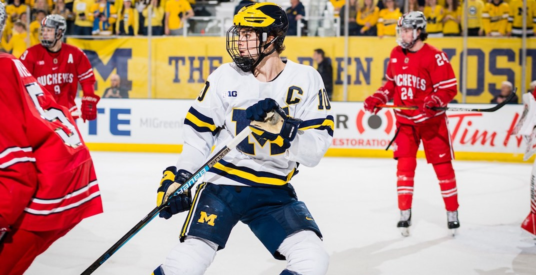 Canucks sign prospect Will Lockwood and college free agent Marc Michaelis