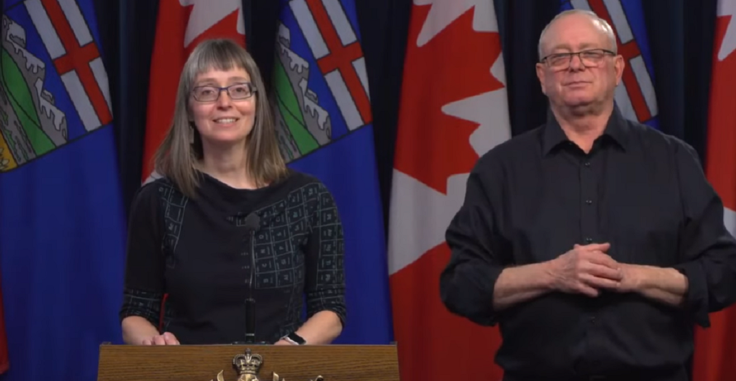 The internet is loving the Alberta Chief Medical Officer's periodic table dress